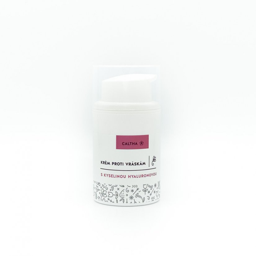 Facial cream with hyaluronic acid, 50ml