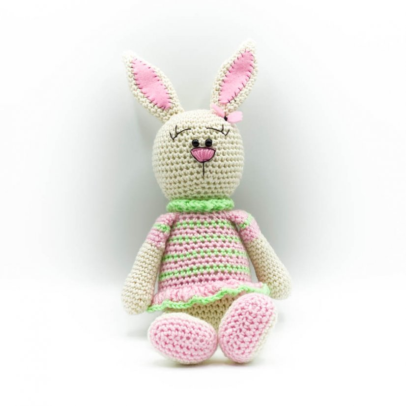 Crocheted bunny - motif 2