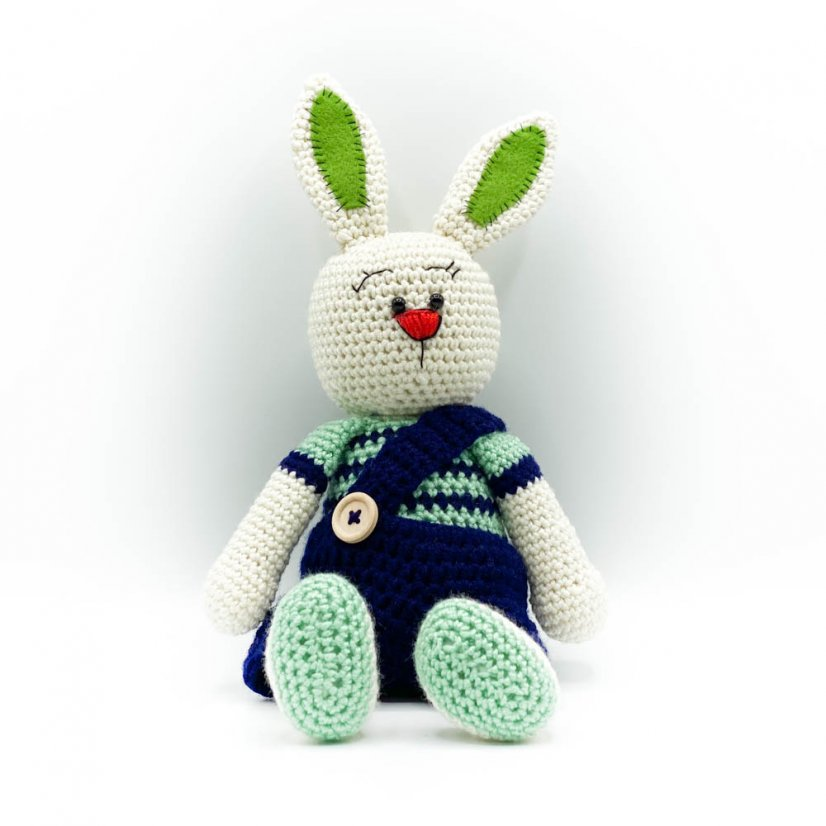 Crocheted bunny - motif 3