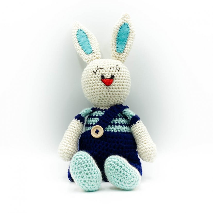 Crocheted bunny - motif 4