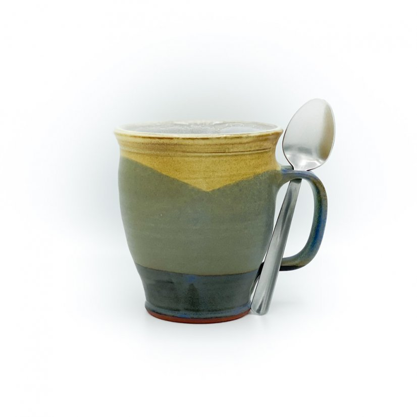Mug with spoon hole - motif 1