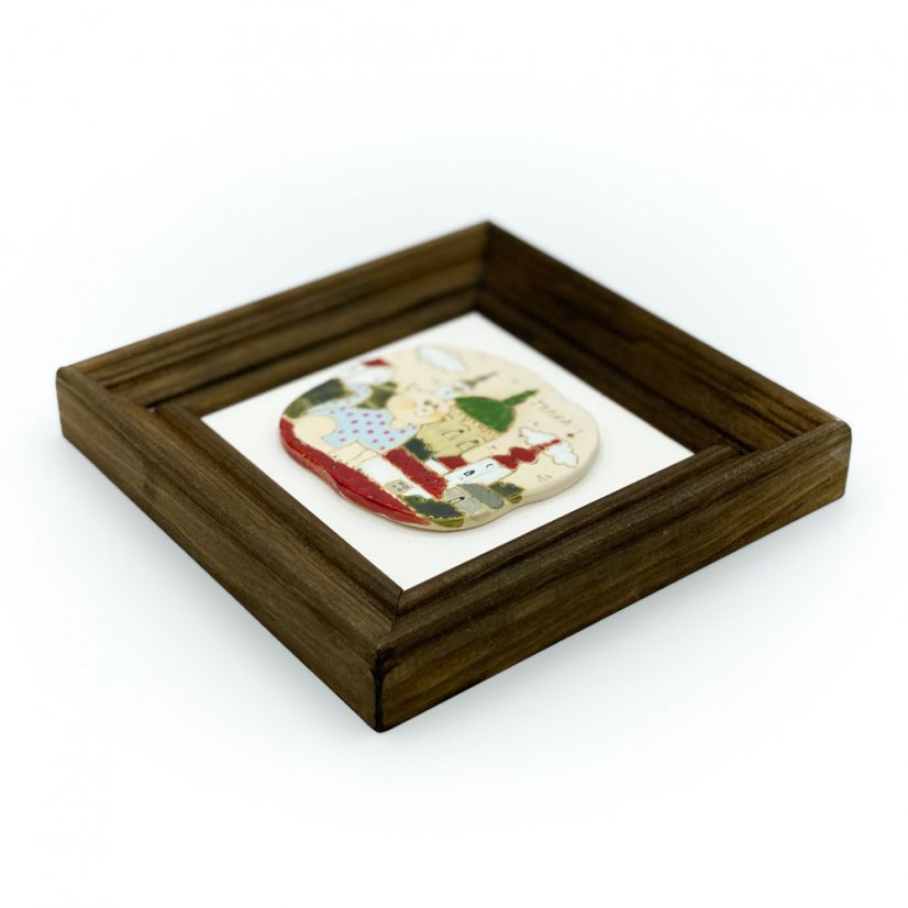 Ceramic picture - square